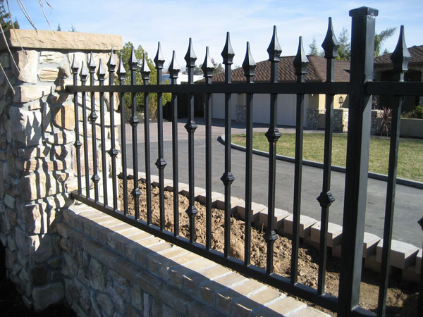 Commercial Iron Fence Carlsbad
