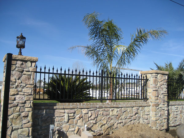 Security Iron Fence Carlsbad