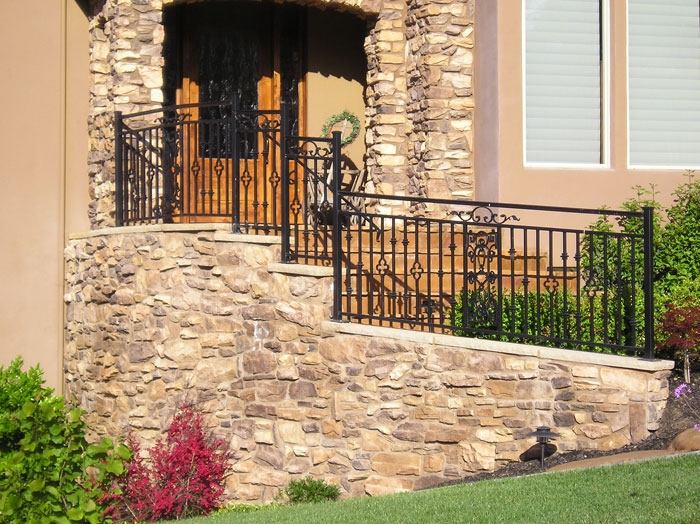 Exterior Iron Stair Railings Carlsbad
