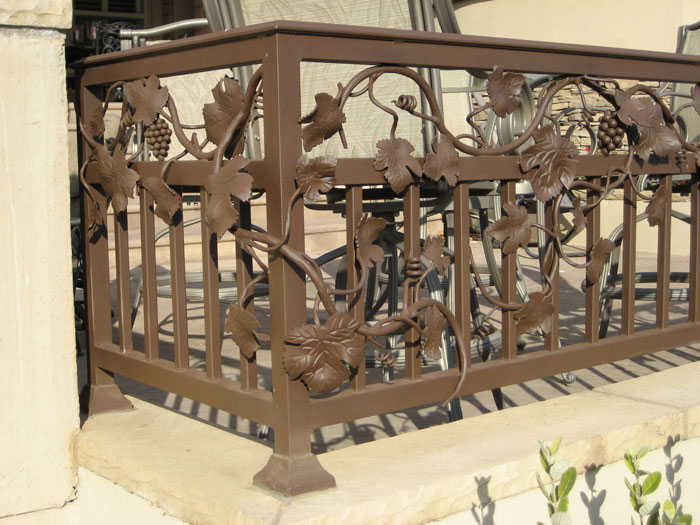 Wrought Iron Balcony Railings Carlsbad
