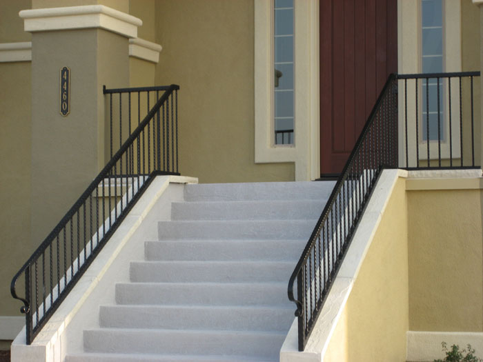 Iron Staircase Railings Carlsbad