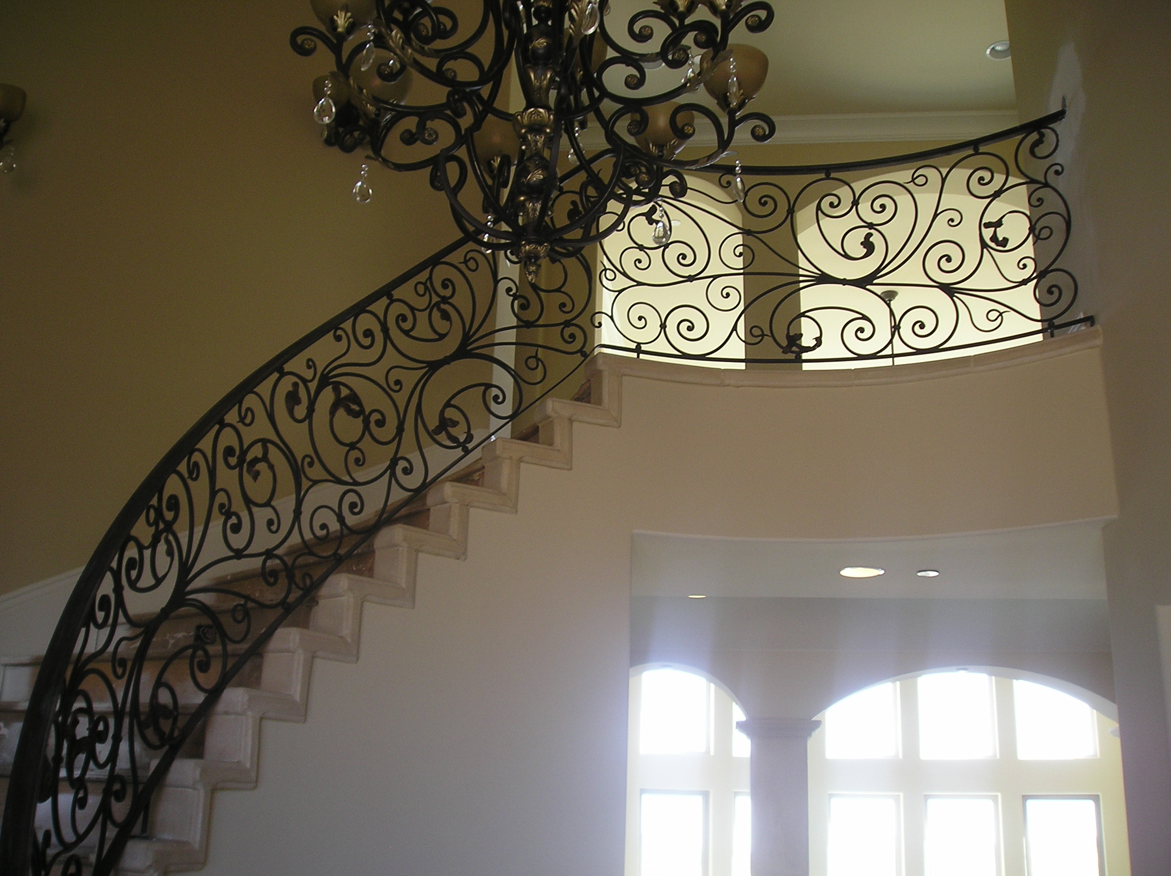 Iron Stiarcase Railings Carlsbad