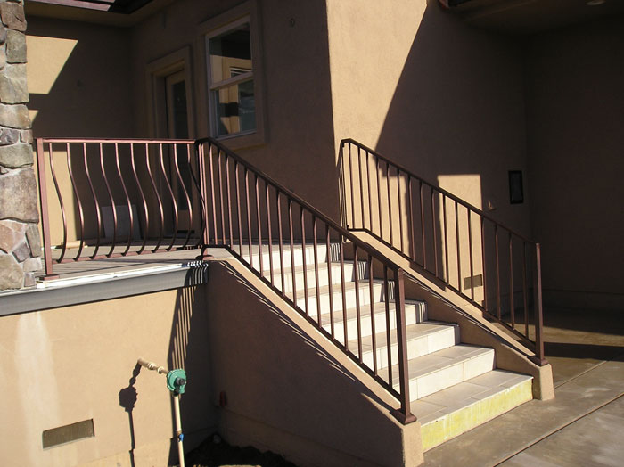 Wrought Iron Stair Railings Carlsbad