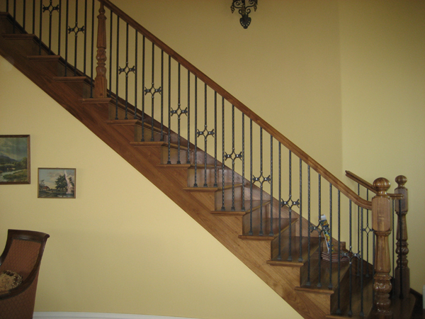 Interior Stairs Wrought Iron Railings Carlsbad Iron Handrail Iron
